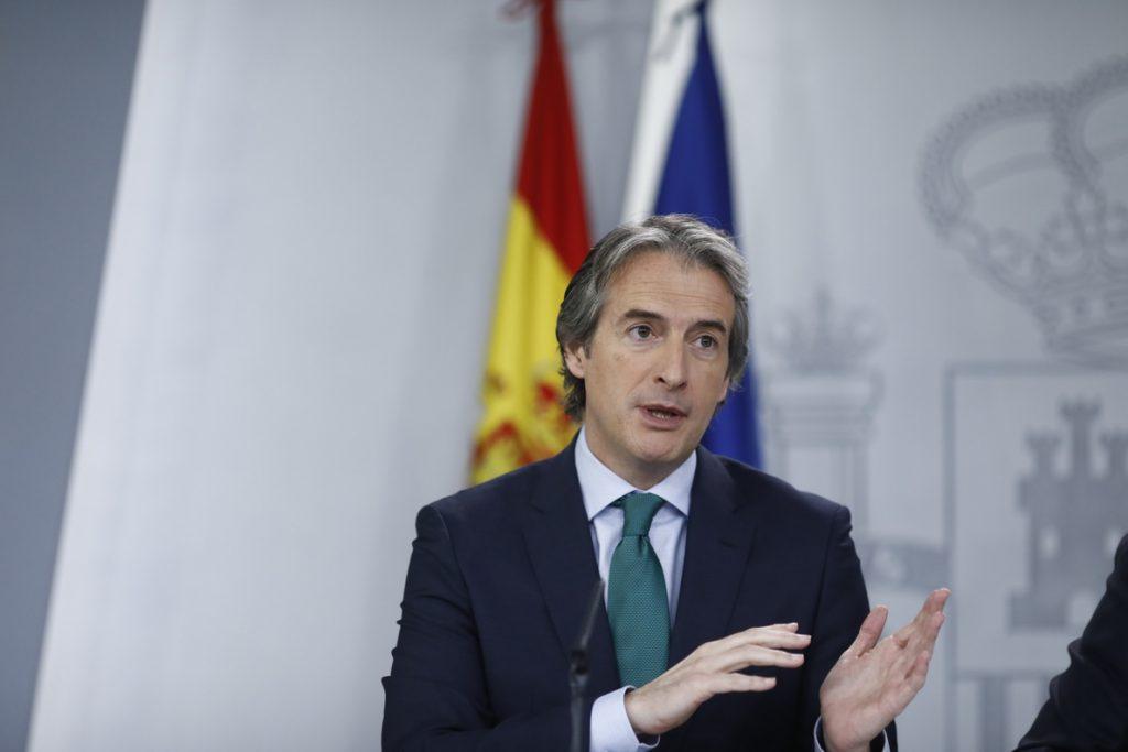 De la Serna defiende que la conexión entre Portbou (Girona) y Francia «atiende a la demanda existente»