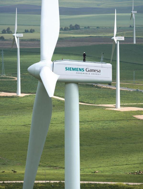 Siemens Gamesa suministrará siete aerogeneradores para un parque eólico de Iberdrola en Tenerife