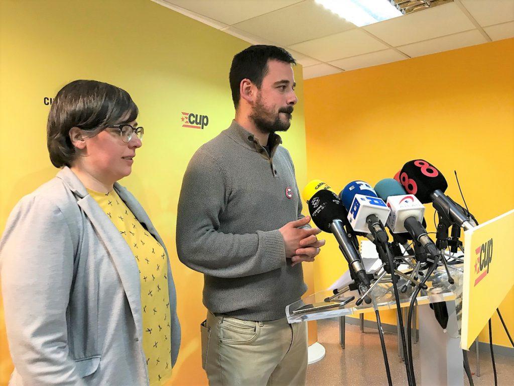 La CUP decidirá el jueves a las 15.00 horas si apoya la investidura de Turull
