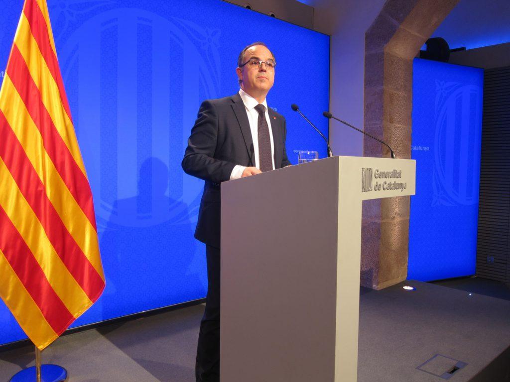 Jordi Turull, la voz del Govern cesado por el 155 que pasó por la cárcel