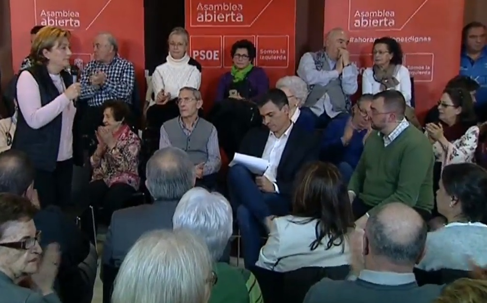 Pedro Sánchez (PSOE) reclama un pacto por la energía que incluya el carbón como reserva energética