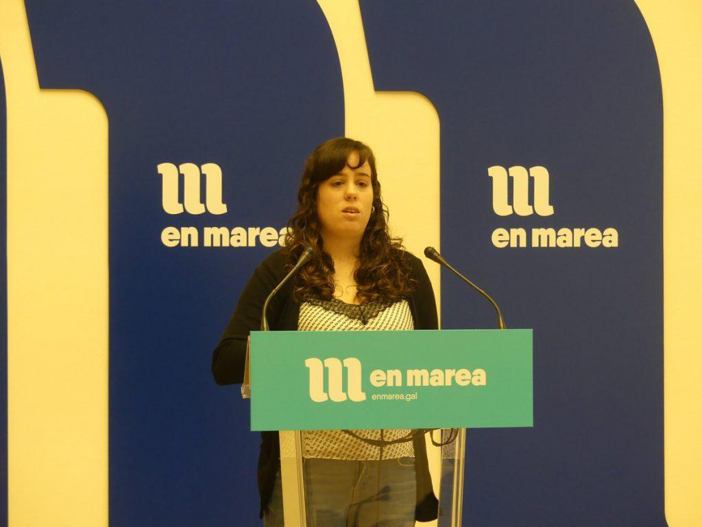 La dirección de En Marea quiere la dimisión de Paula Quinteiro y someterá a votación la petición