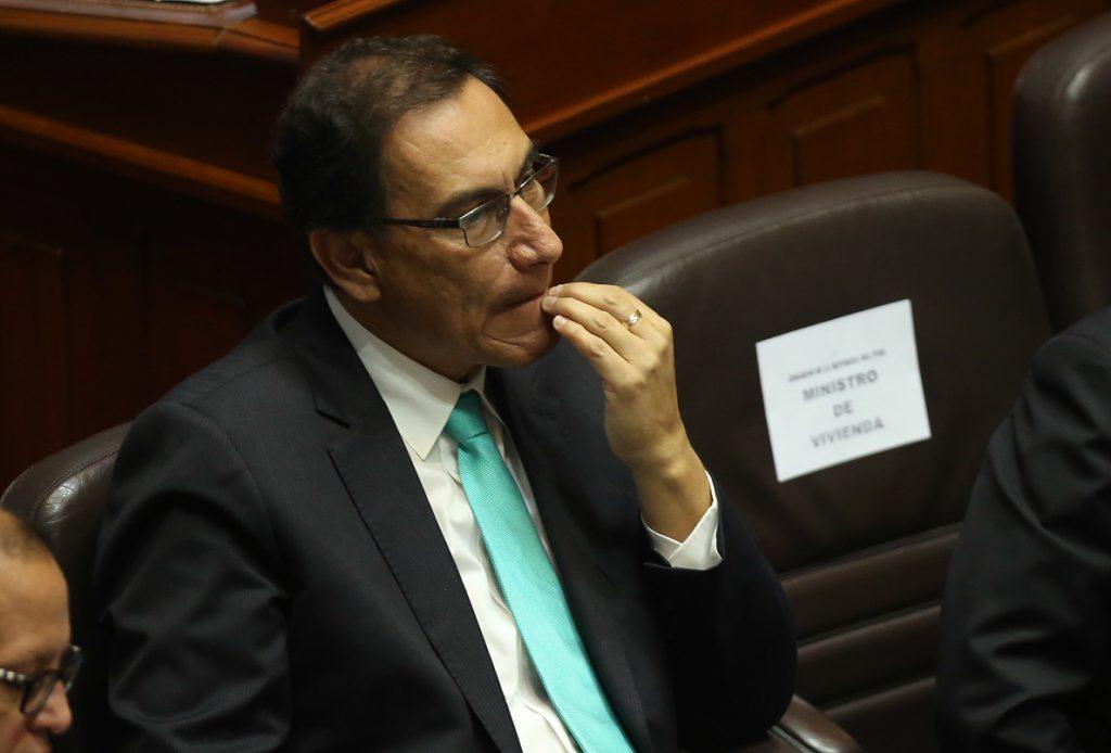 El vicepresidente Martín Vizcarra es el llamado a asumir Presidencia de Perú