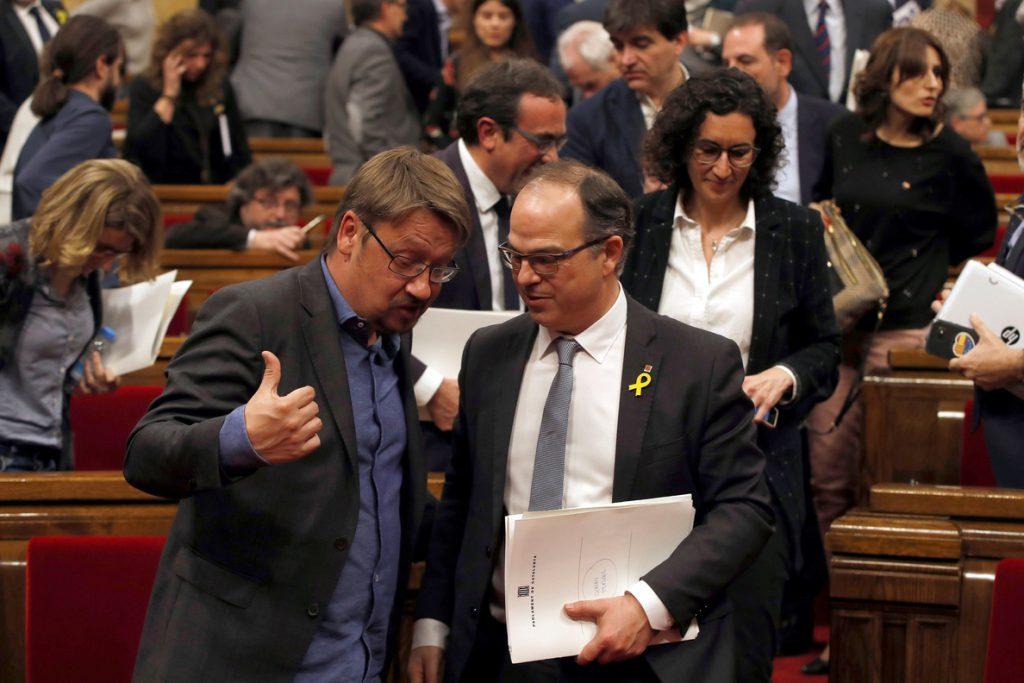 Turull, tras la votación fallida: «Tengo la conciencia tranquila»