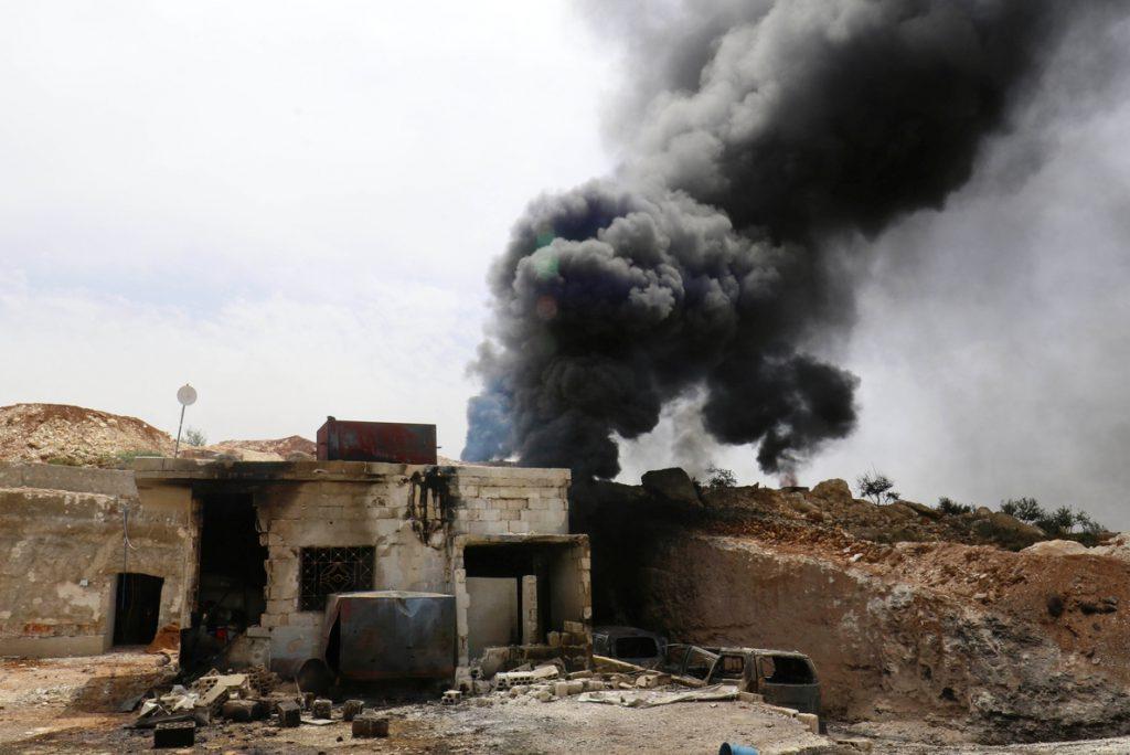 Mueren 28 civiles en un bombardeo ejecutado contra una localidad en la provincia de Idlib