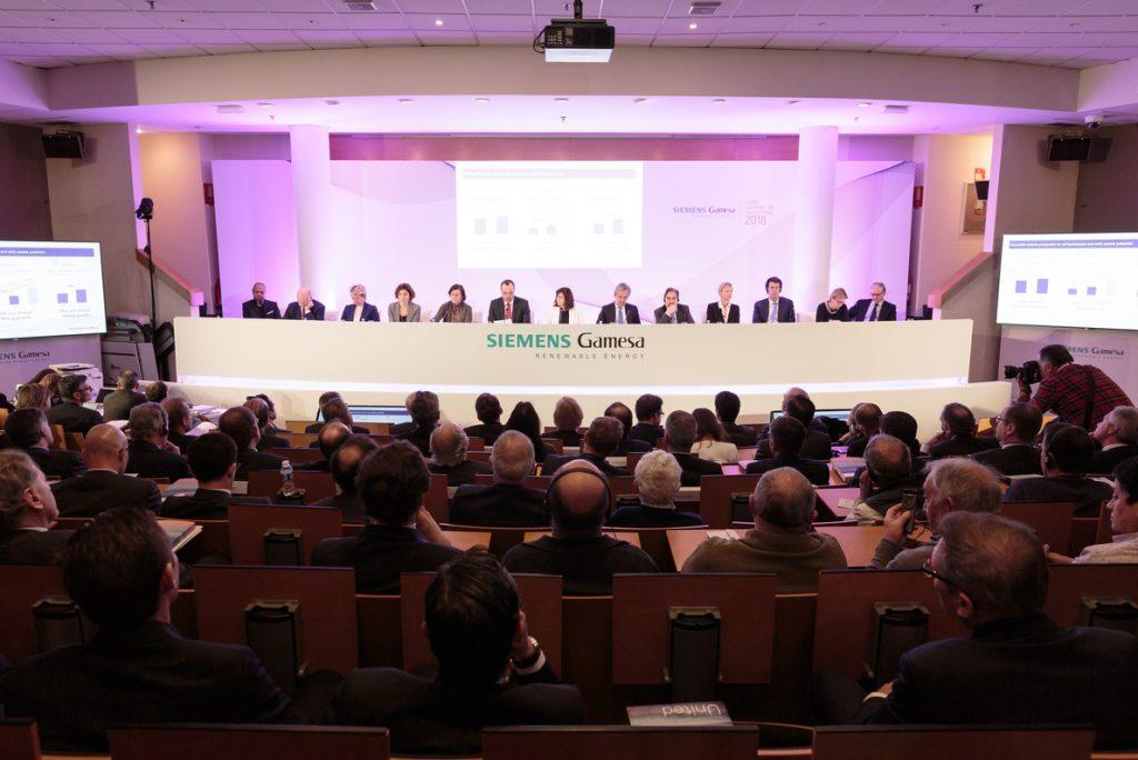 (Ampl.) Siemens tumba en la junta de Gamesa los puntos de Iberdrola sobre la sede y Gobierno corporativo