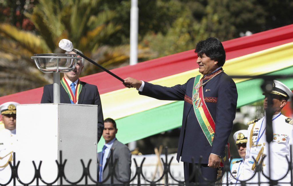 Bolivia celebra su Día del Mar con una invitación a Chile para cerrar heridas