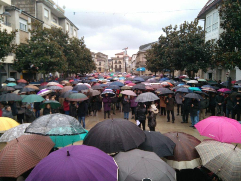 Centenares de personas marchan en Verín (Orense) contra la «privatización» de la sanidad pública