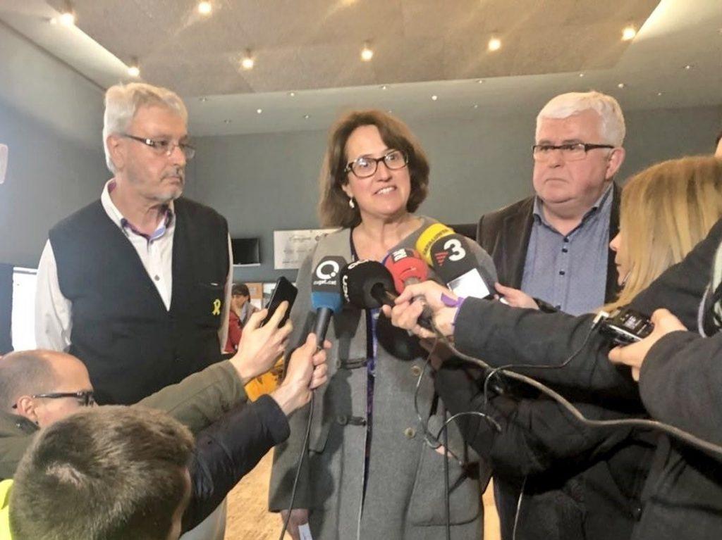Elisenda Paluzie (ANC): «Trabajaremos sin descanso para hacer posible la República catalana»