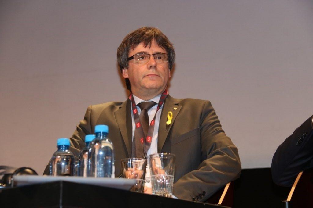 La Fiscalía de Bruselas recibe la euroorden de detención de Puigdemont