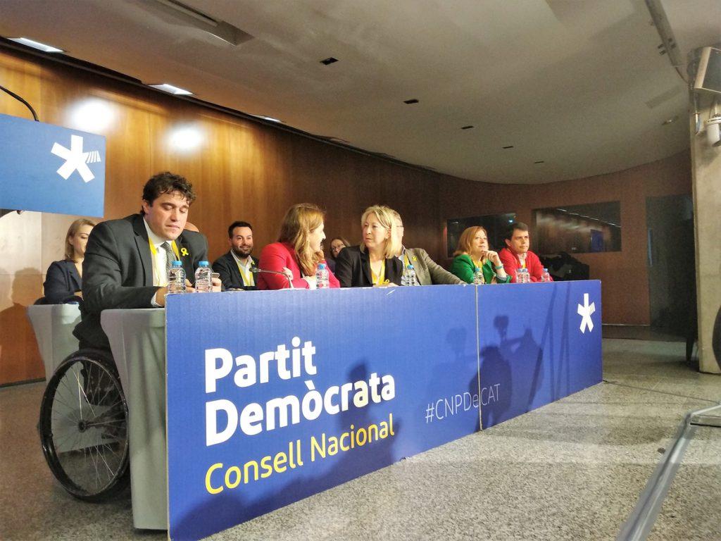 Munté (PDeCAT) propone un «frente por la democracia» ante el Estado