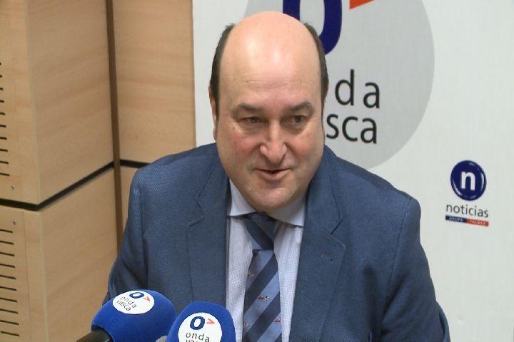 Ortuzar (PNV): «No corresponde a los jueces decidir quién es el president de la Generalitat»