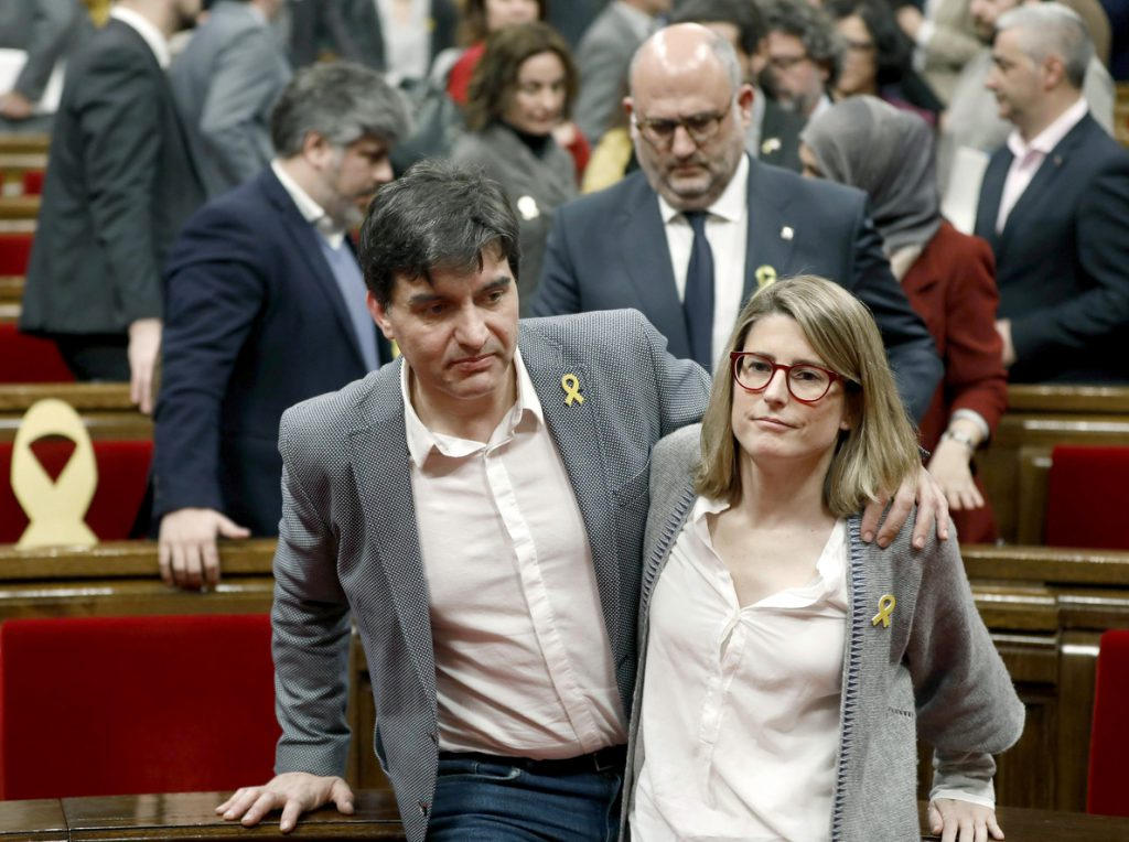 Artadi (JxCat) cree que España «no garantiza un juicio justo» a Puigdemont