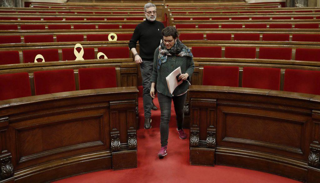 La CUP denuncia la «represión» y pide a Alemania que deje en libertad a Puigdemont