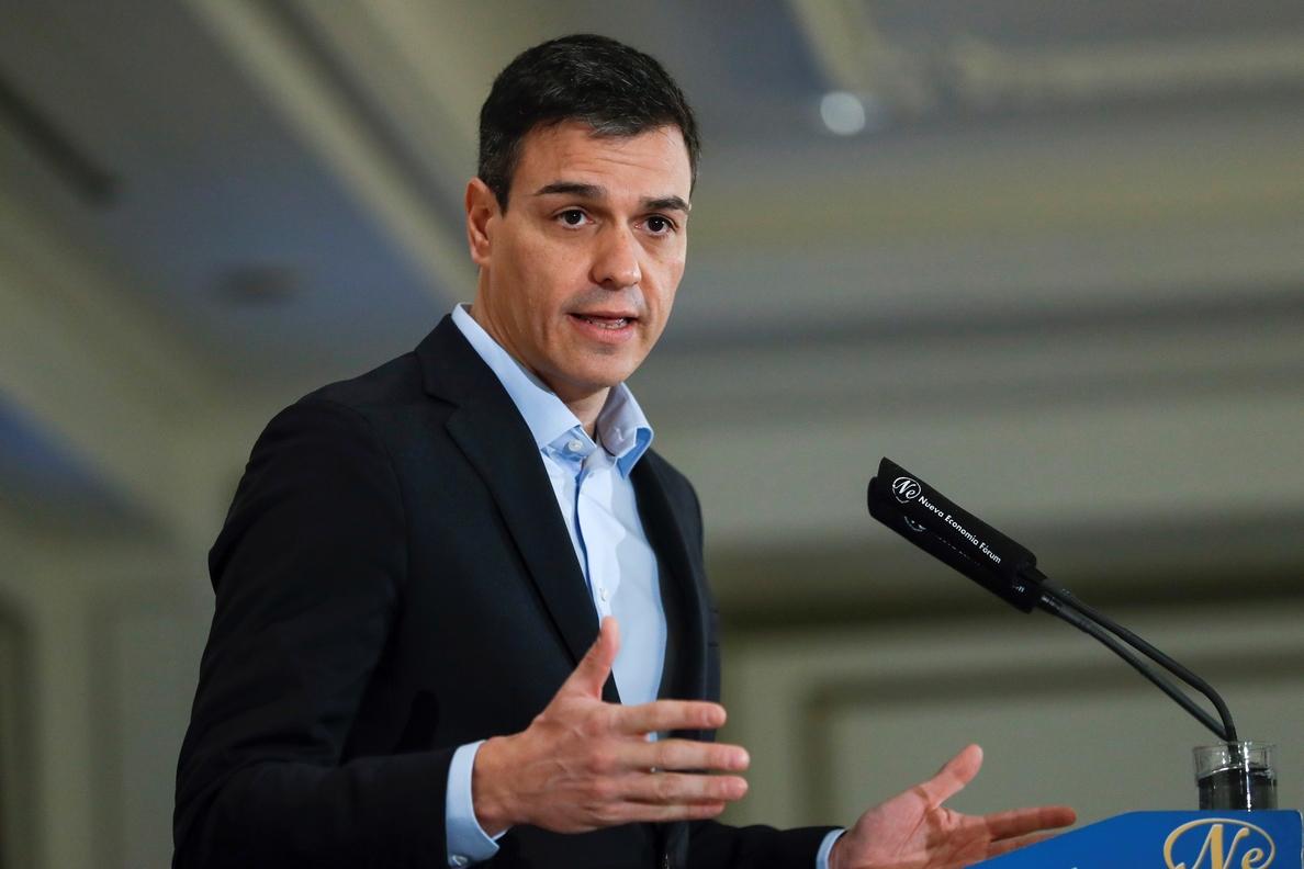 Pedro Sánchez afirma que el independentismo es una «apuesta por el caos»