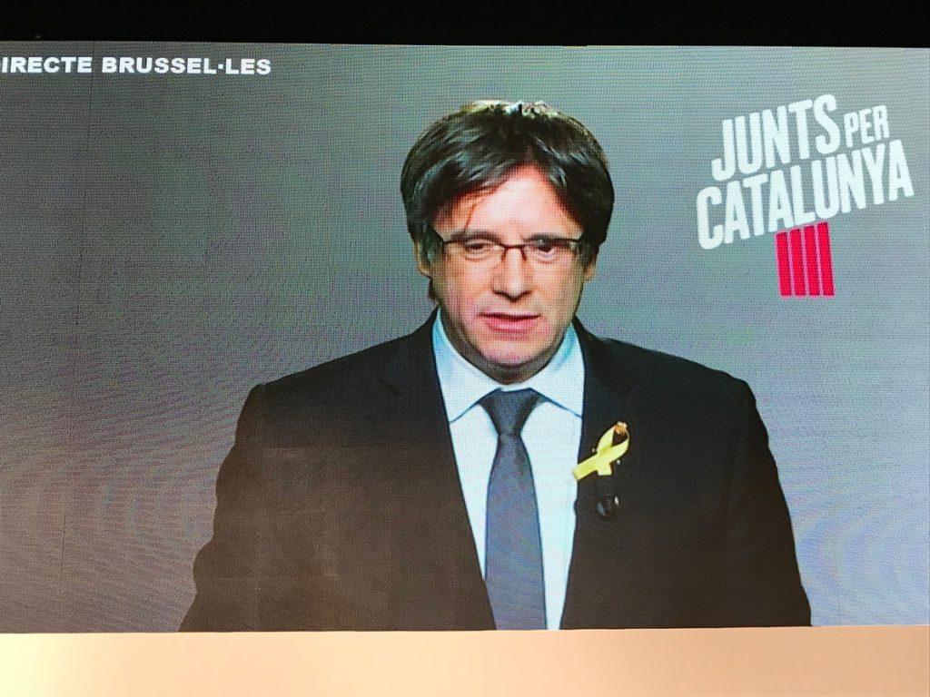 Puigdemont fue detenido gracias a la cooperación entre la Policía  Nacional, la Policía alemana y el CNI