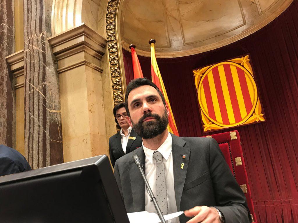 Torrent mantiene contacto con la defensa de Puigdemont y las autoridades alemanas