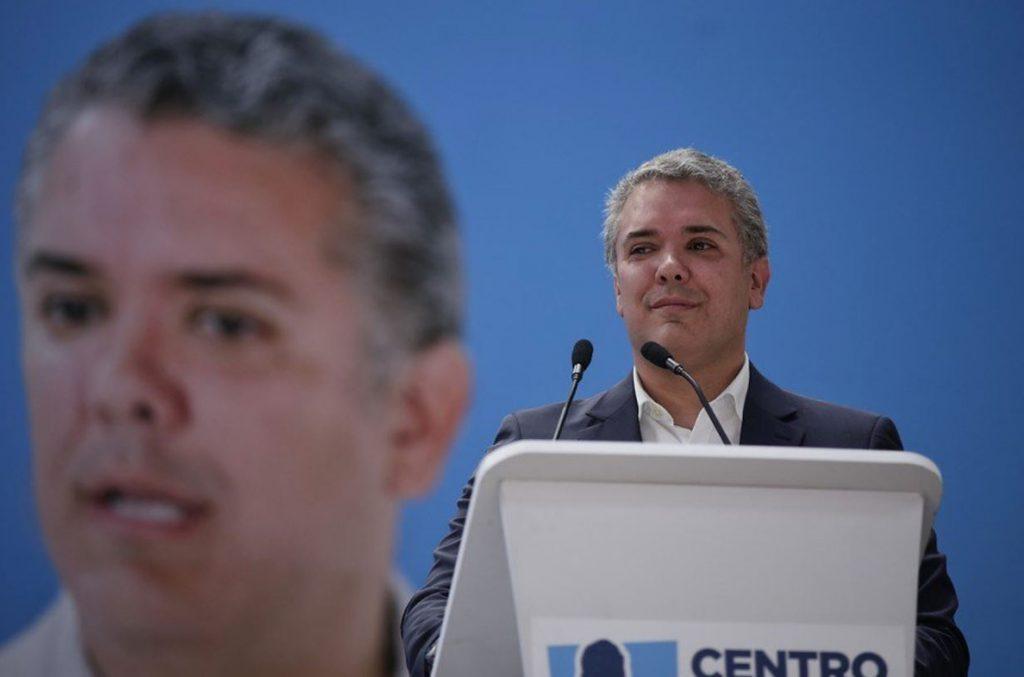 El derechista Duque es el claro favorito para las presidenciales colombianas