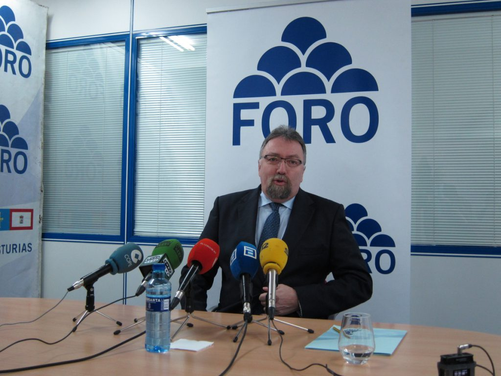 Foro Asturias dice que el Gobierno no le ha informado de los detalles de los Presupuestos de 2018
