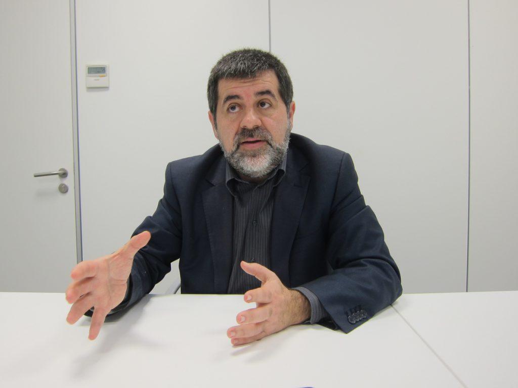 Jordi Sànchez solo apoya las movilizaciones pacíficas y pide no increpar a nadie