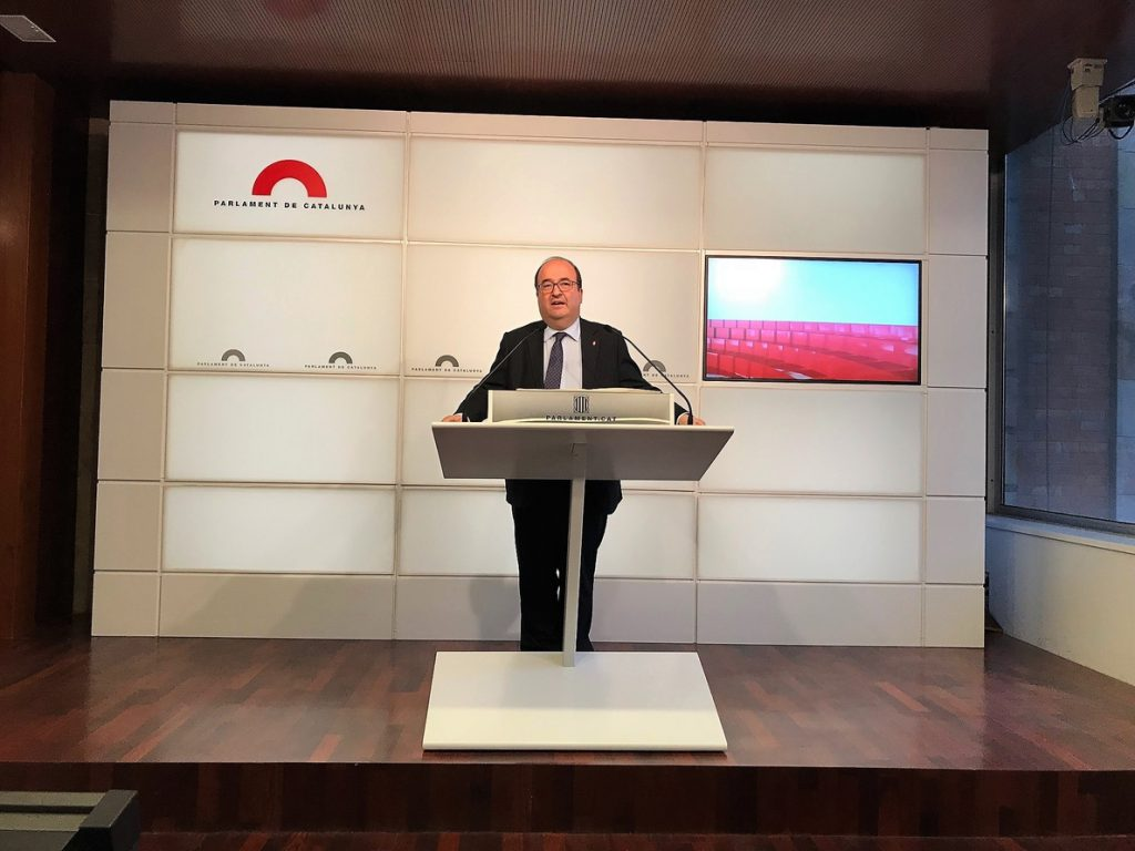 El PSC lleva al Consell de Garanties la ley para investir a distancia promovida por JxCat