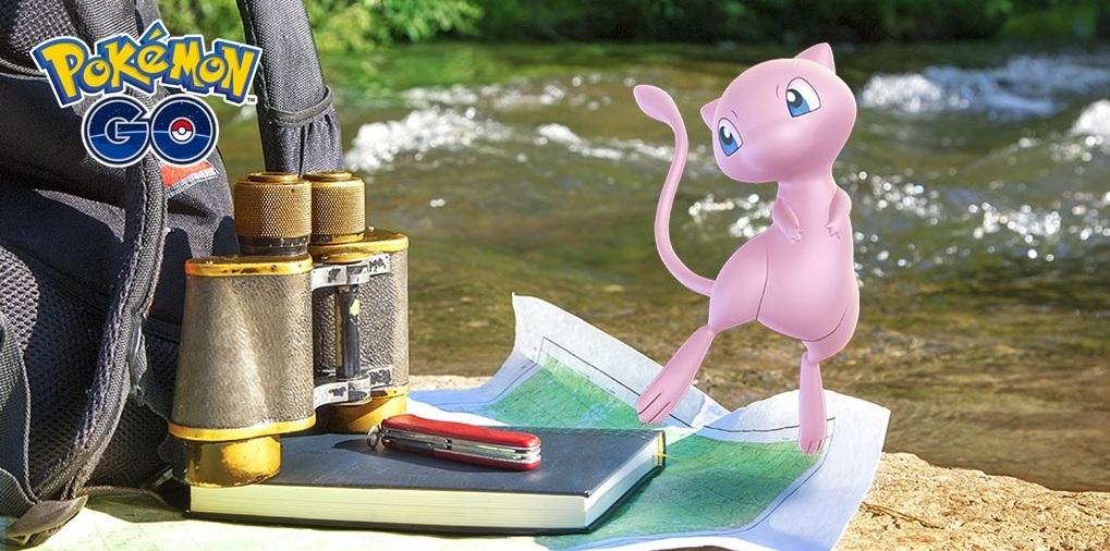 Pokémon Go anuncia las misiones de investigación que podrán llevar a un encuentro con Mew