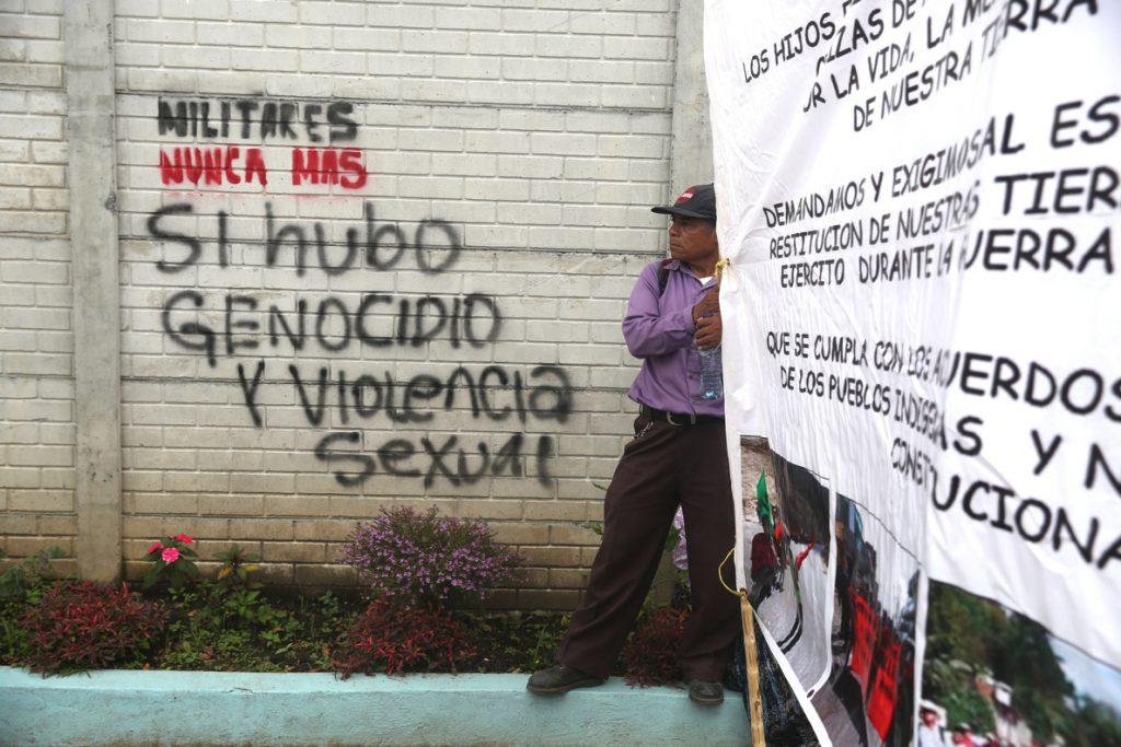 La CIDH alerta de que Guatemala mantiene elementos que causaron la guerra civil