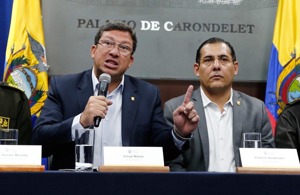 Ecuador activa el Consejo Seguridad tras un secuestro en la frontera con Colombia