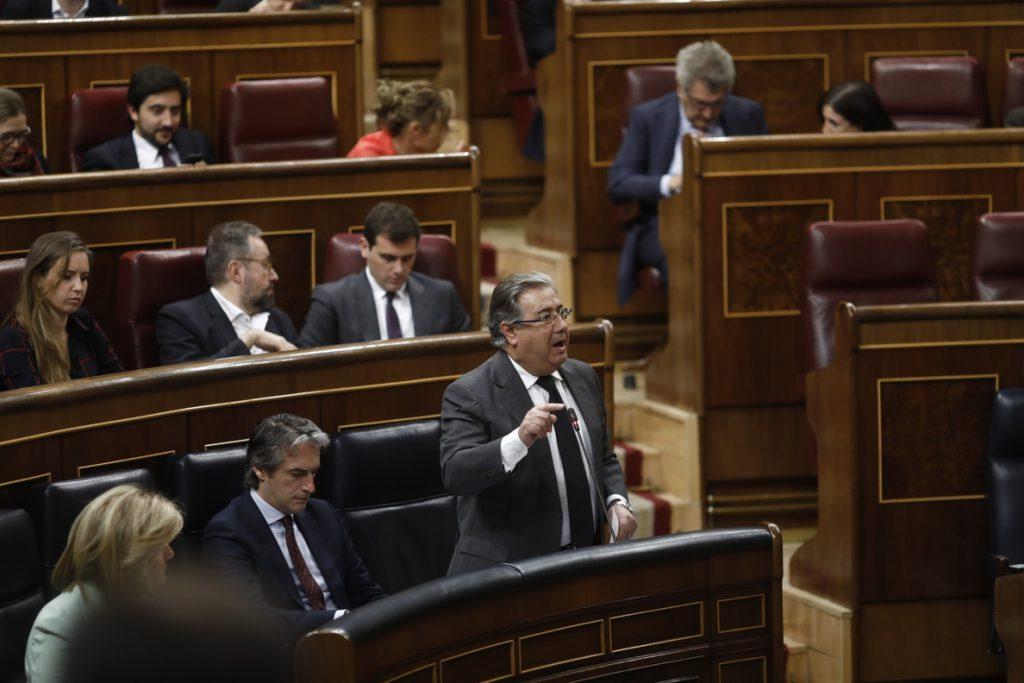 PDeCAT pide que Zoido y el director del CNI expliquen en el Congreso el operativo que llevó a la detención de Puigdemont