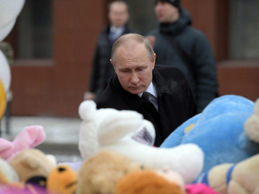 Putin denuncia la «negligencia criminal» y promete castigar a los culpables del incendio