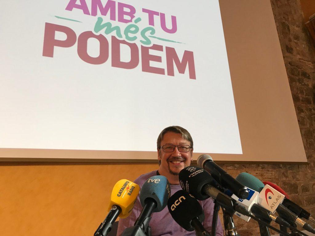 Los candidatos a dirigir Podem mantendrán un debate el 4 de abril