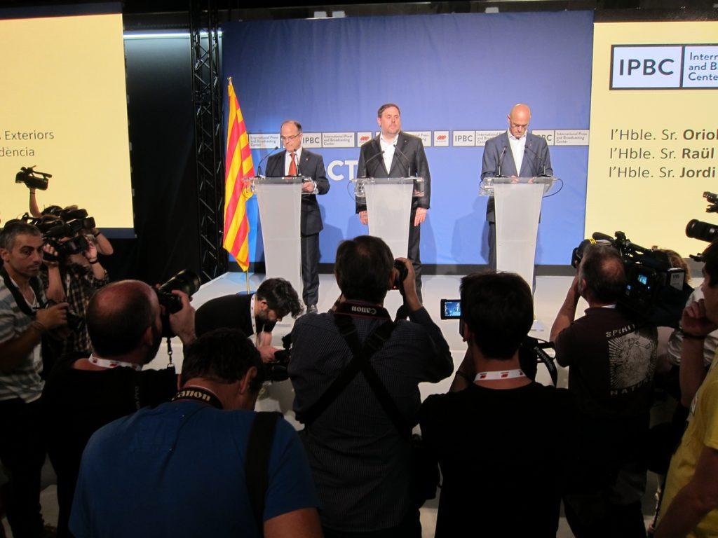 El gobierno de Puigdemont trabajaba en un «fichero maestro» de personas, bienes inmuebles y datos fiscales