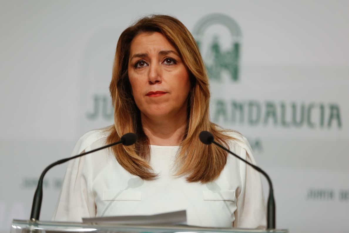 Susana Díaz pide primarias en Andalucía y se enfrentará a Juan Espadas