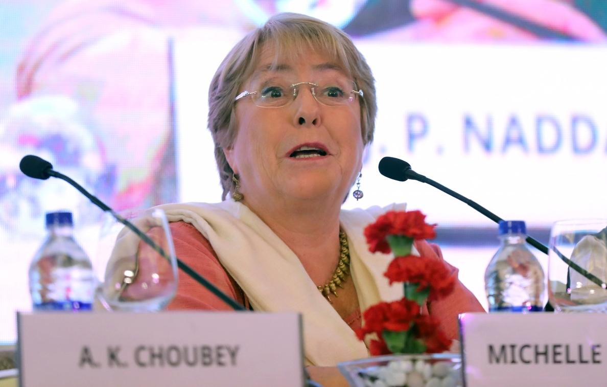 Bachelet subraya en la India la necesidad de invertir en mujeres y niñas