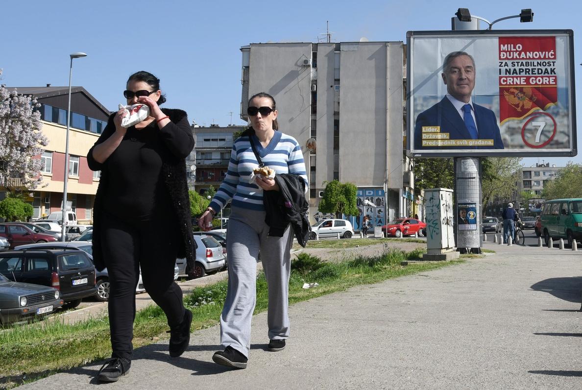 Comienza la votación en las elecciones presidenciales de Montenegro