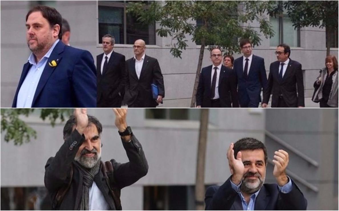 El juez Llarena comunica mañana el procesamiento a Sànchez, Junqueras y Cuixart por rebelión