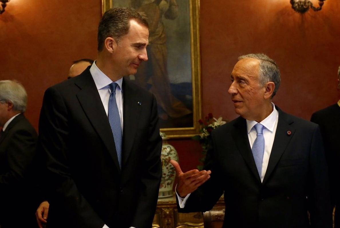 El presidente portugués será recibido por el Rey y Rajoy y viajará a Salamanca en su visita de Estado a España