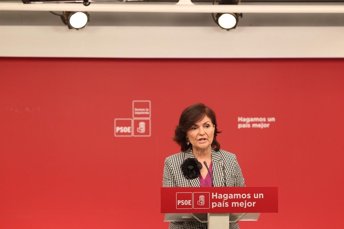 Calvo (PSOE) enmarca en la estrategia de defensa de Manuel Chaves su desconocimiento sobre cómo se concedían los ERE