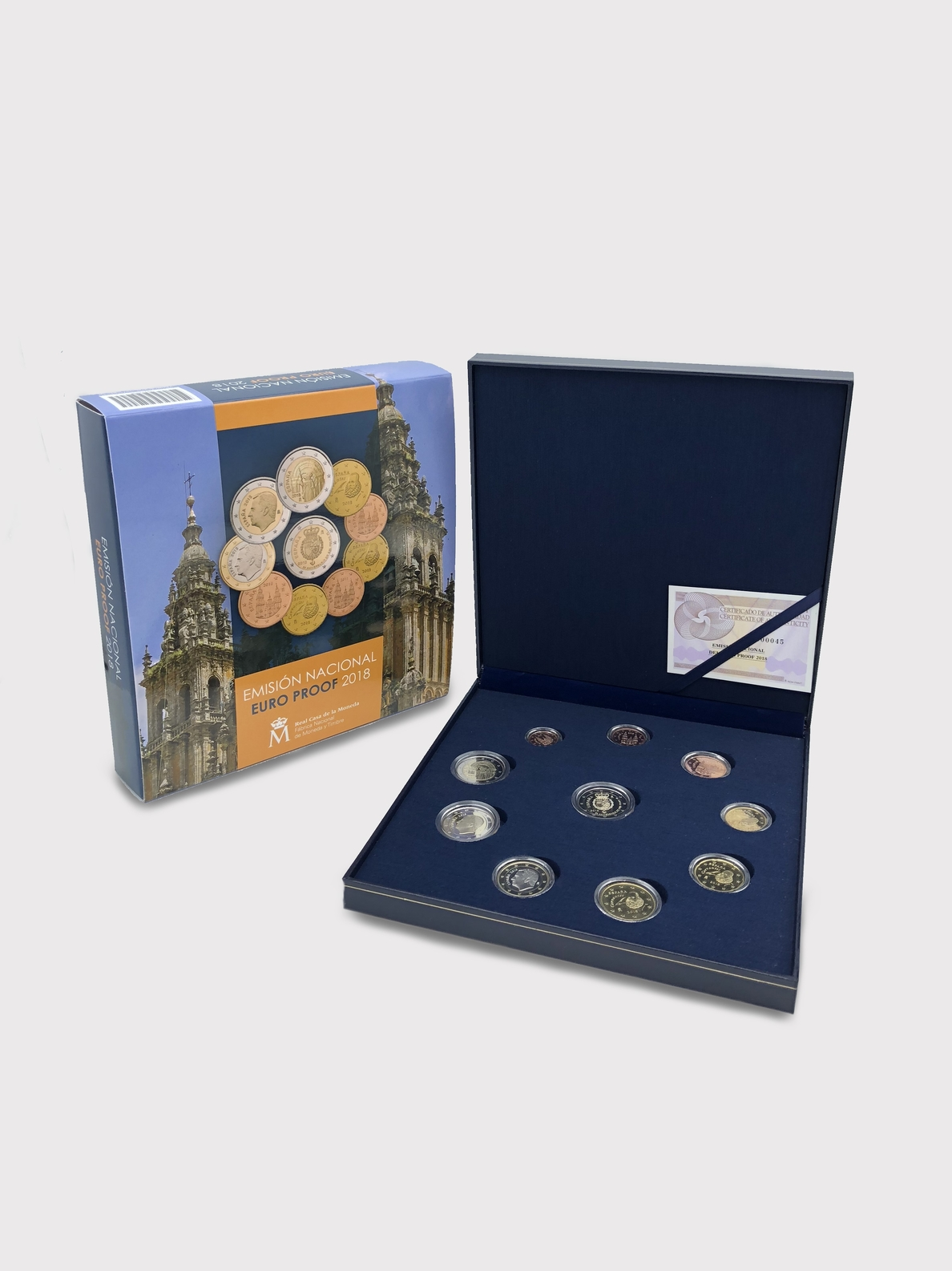 La Fábrica de la Moneda lanza un pack de 8 monedas y las conmemorativas de 2 euros