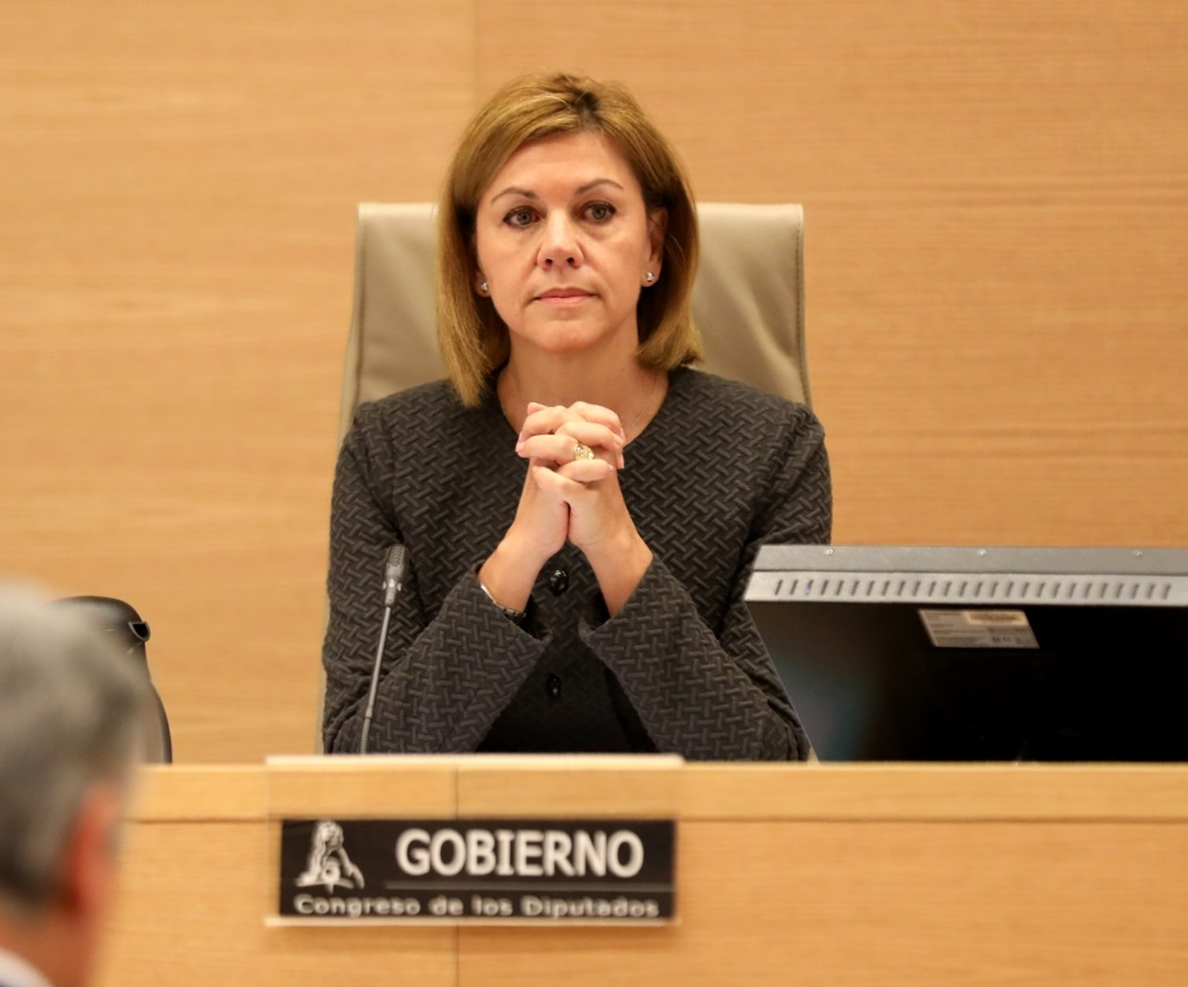 IU y En Marea exigen cuentas a Cospedal por el uso de las bases de Zaragoza y Rota para bombardear Siria