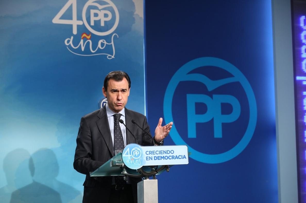 Maillo (PP) dice que el apoyo de UGT y CC.OO. a la manifestación en Barcelona «no ayuda al crédito de los sindicatos»