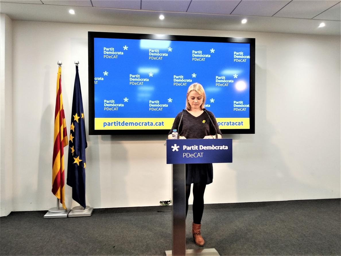 El PDeCAT quiere formar Govern pero pide tener en cuenta la «no normalidad» en Cataluña
