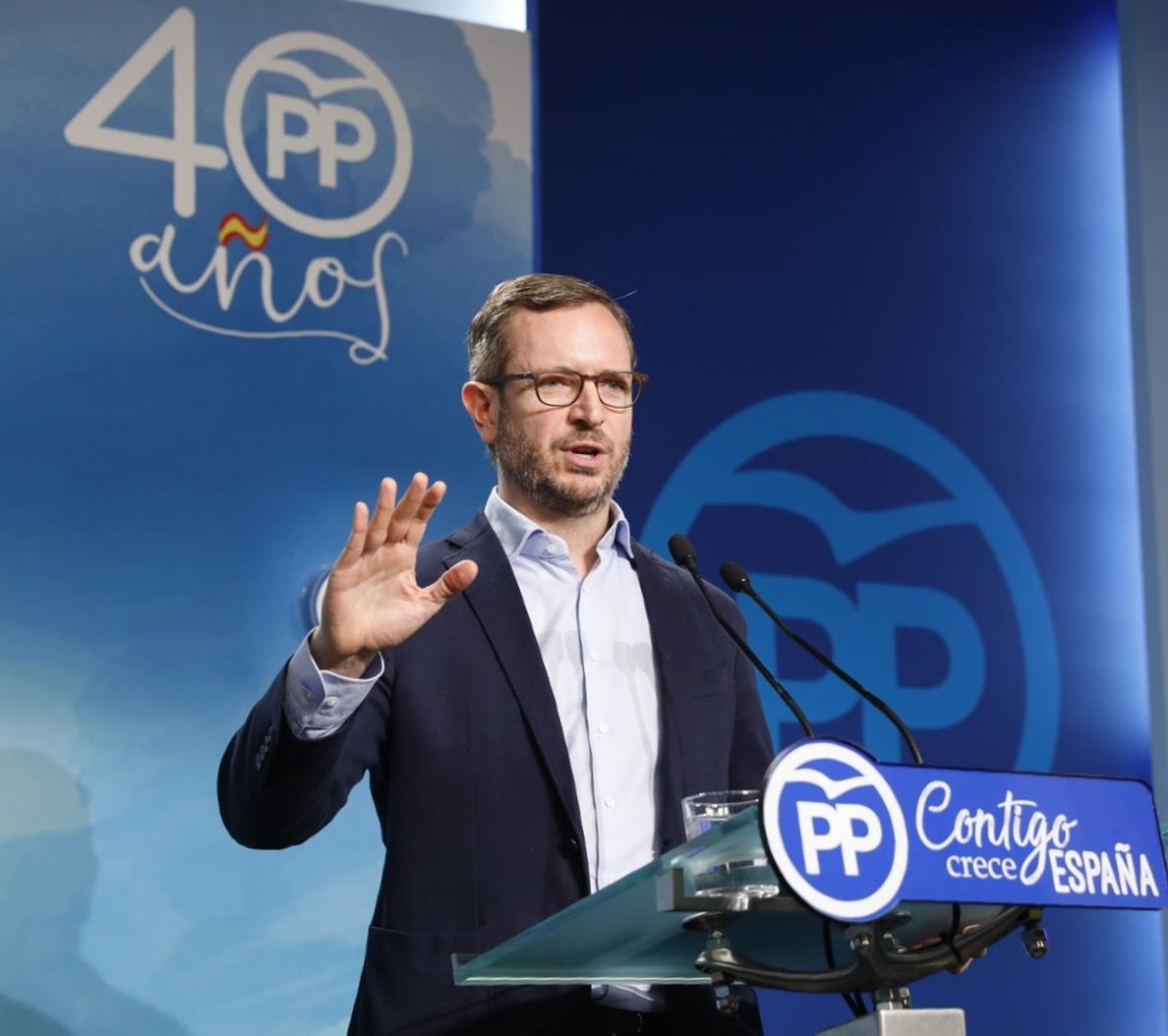 PP reta a Cs a «aplicarse el cuento», echar a Cantó y a pactar un programa de gobierno en Madrid con PSOE y Podemos