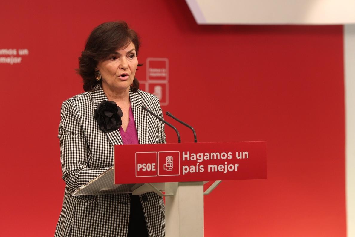 El PSOE afea al Gobierno navarro que salga a la calle por los agresores de Alsasua, pero no por el 8-M o las pensiones