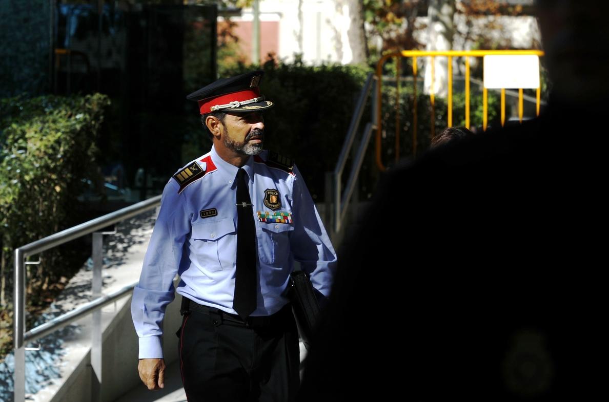 Trapero rechaza ante la AN haber puesto a los Mossos al servicio del proceso independentista
