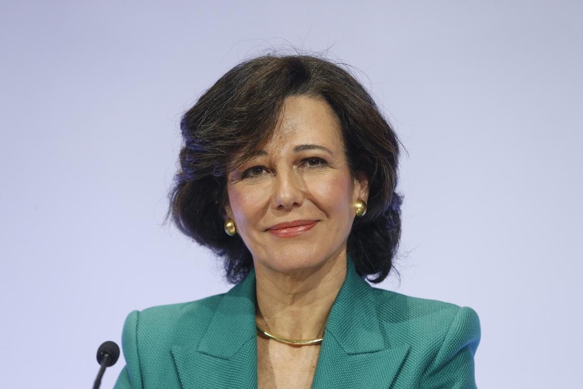 Botín (Santander) pide revisar la nueva norma de servicios de pago para tener una «competencia justa»