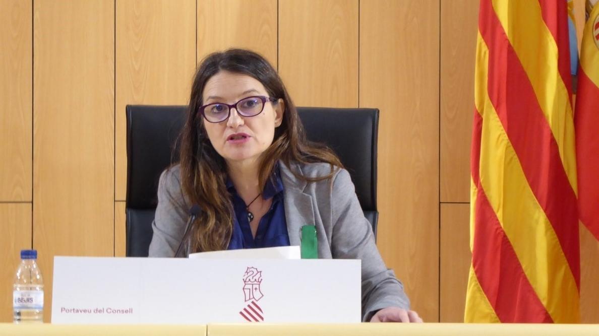Mónica Oltra evita pronunciarse sobre si Compromís debería entrar en un gobierno municipal con el PSPV