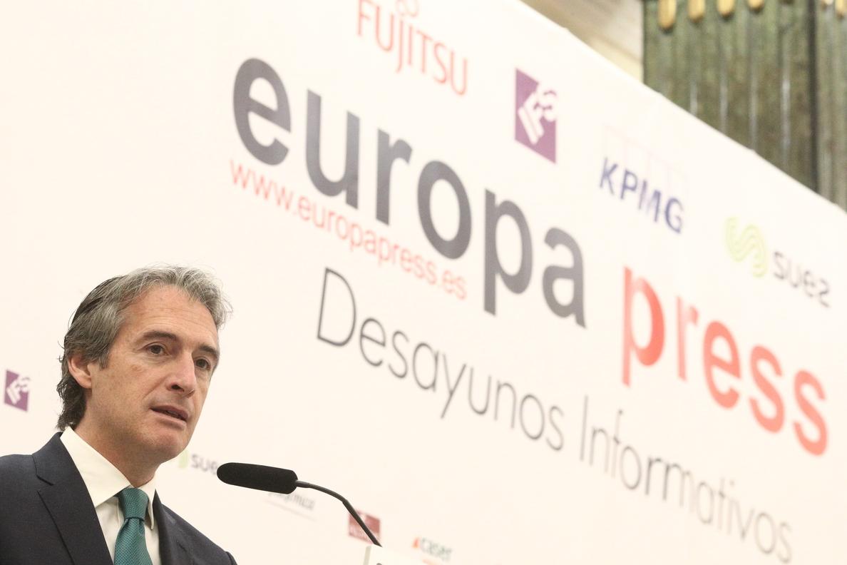 De la Serna anuncia el acuerdo para comenzar a tramitar el proyecto Madrid Nuevo Norte