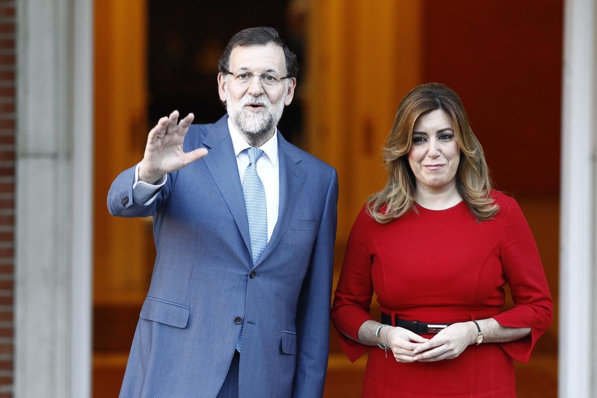 Susana Díaz se reúne este miércoles con Rajoy en Madrid para abordar la financiación autonómica