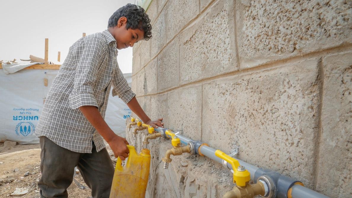 UNICEF alerta de la escasez de agua en Yemen tras los últimos ataques